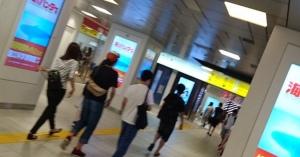 #西武池袋線 保谷駅~ひばりヶ丘駅間 #人身事故 「女性が線路内に自分から降りていった」