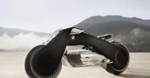 BMWの未来のバイクVision Next 100。ヘルメット不要でとにかくかっこいい!!