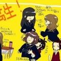 えげつない・・・「女子校あるある」可愛いイラスト・漫画 まとめ