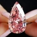 ピンクパンサーに狙われる?ピンクダイヤ、過去最高額34億円で落札