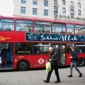 <アラビックの浸透・・・?> 英国の5つの都市で、バスに「アラーの神は偉大だ」の広告を載せたイスラム・キャンペーンが実施されました。イスラム系のロンドン市長が、市内の公共交通機関で魅力的な女性の広告を禁止しました