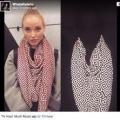 【カメラ隠し撮り対策】カメラ撮影から「姿を消せるスカーフ」がセレブの間で爆発的な人気!