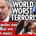 <・・・これが世界基準だ> 「イラク戦争調査報告書」提出を受け英が再び大混乱 戦死英兵遺族が「トニー・ブレアは世界最悪のテロリスト」と糾弾、街ではデモが <日本では被ばくで親を殺され子供を殺され・・・それでも給与欲しさに我慢する気が知れん!>