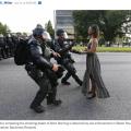 続・黒人男性射殺に抗議し拘束されたエバンスさん心境かたる
