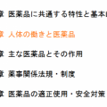 人体の働きと医薬品 2/2 【登録販売者試験対策 正文まとめ】