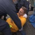 「テロリストは僕だった。」、アメリカ退役軍人でつくる平和団体「ベテランズ・フォー・ピース(VFP)」メンバーの元海兵隊マイク・へインズさんの沖縄・高江での座り込み反対平和運動