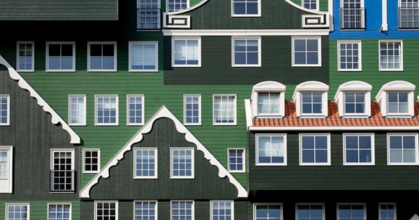 積み木で造った様なオランダの可愛いホテル!泊まってみたい!