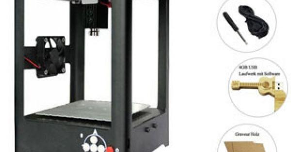 Miniatur Laser Graviermaschine