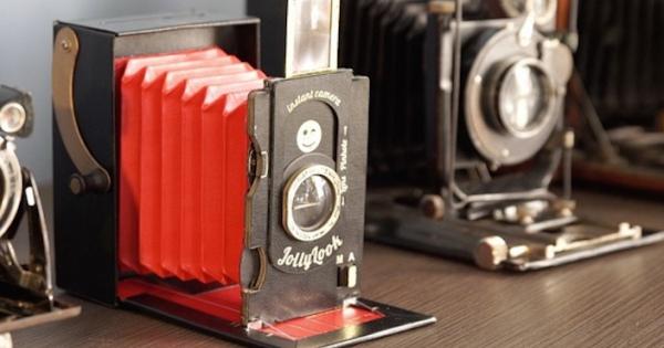 ダンボールで作ったインスタントカメラ!これがかなりオシャレで優秀!