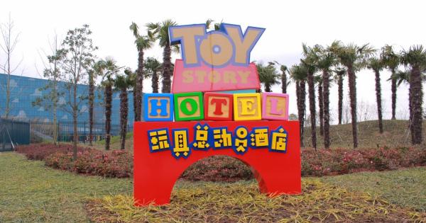 トイストーリーホテルにいってみたい!!