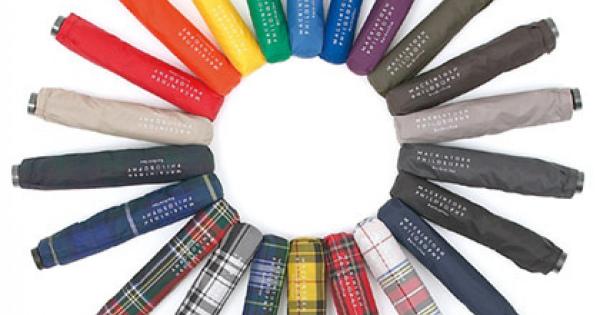 おしゃれ感漂う人気の超軽量折り畳み傘 MACKINTOSH PHILOSOPHY(マッキントッシュフィロソフィー)の「Barbrella(バーブレラ)」