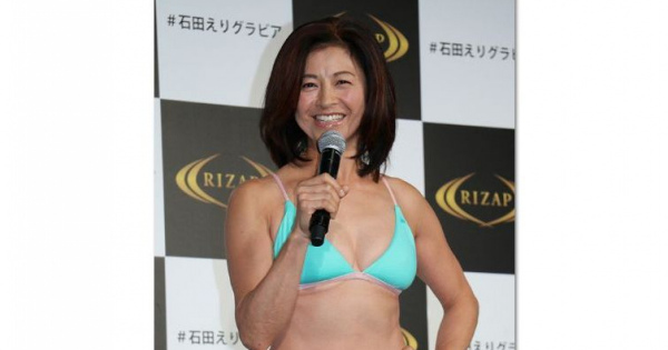 ダイエット成功! 56歳熟女ボディ「石田えり」♡セクシー♡画像まとめ