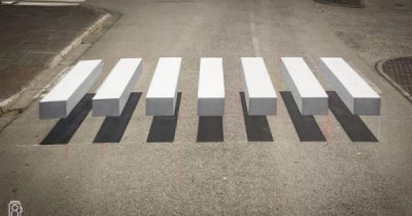 天才の発想!3D横断歩道って知ってますか?