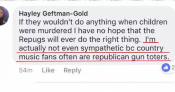 悲劇の銃乱射事件の米TV女性局員が「私は犠牲者に同情しない。なぜなら、カントリー音楽ファンは共和党支持者だから」と発言