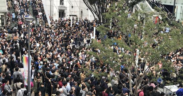 #東京大作戦1014 「まっとうな政治を」に賛同する人だかりでスゴイことに!