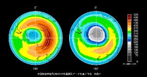 フロン規制の効果?南極上空のオゾン層が回復傾向!