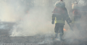 放射能の拡散の心配は?福島事故原発近くの森林火災が鎮火。