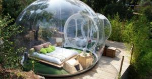 透明のシャボン玉に泊まる事ができるフランス・マルセイユのホテル!