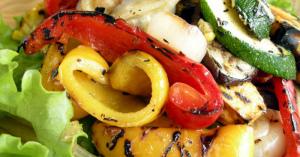 豪華に見える「野菜グリル」 野菜をたっぷり食べる事ができて美味しい!
