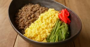 「時短&簡単」!知っておくと超便利♪【3色丼・お弁当】レシピ【15選】☆