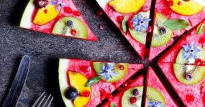 インスタ映えする♪フォトジェニックな【スイカ・ピザ】デザート・レシピ【8選】☆夏のパーティーに♡
