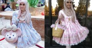 イスラム女性がロリィタファッション!?