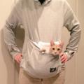「にゃんガルーパーカー」で、ネコがただならぬ可愛さに!