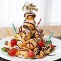 簡単♪市販のシュークリームで作る♡【クロカンブッシュ】でクリスマスケーキレシピ集【8選】☆