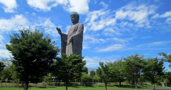 【120mの牛久大仏】茨城に世界最大ブロンズ像がある!!仏仏仏!!でっけーーー!!!!