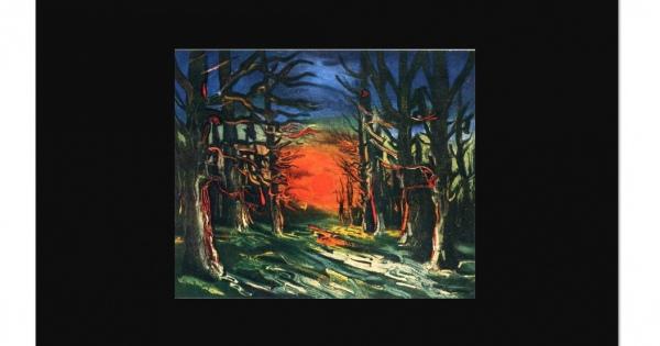 孤独と焦燥【画家紀行】陰鬱「モーリス・ド・ヴラマンク」の心に刺さる作品まとめ #フォーヴィスム #パリ