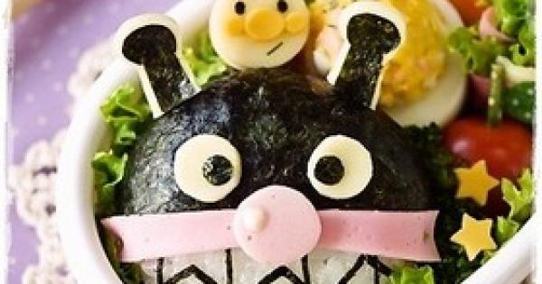 子供が大喜びすること間違いなし!!【アンパンマン】の【キャラ弁】レシピ集【24選】☆