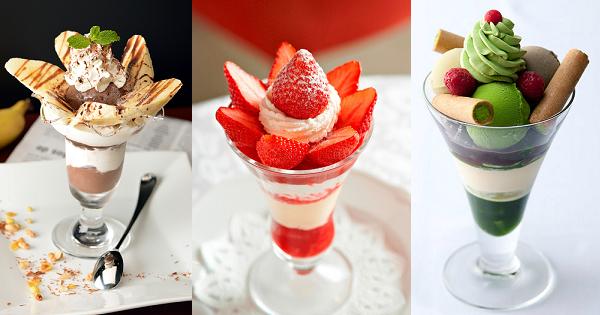 【6月28日はパフェの日】パフェと可愛いパフェグラスとソーダスプーン|まとめ