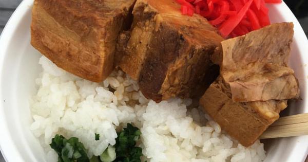肉と米の確かなハーモニー☆チャーシュー丼