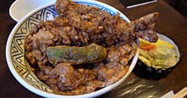 天ぷらを使ったうま過ぎ丼ものグルメの天丼