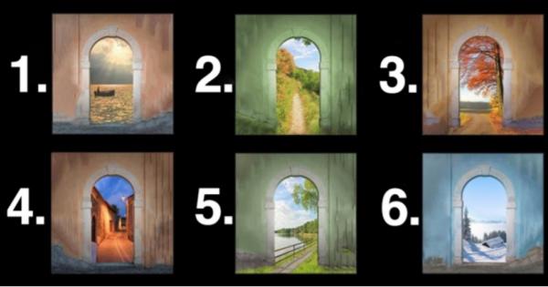 あなたはどのドアが好き?選んだドアであなたの欲しているものがわかる!