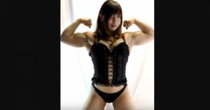 アジア最強格闘美女が復活【DEEP】セクシーマッスル「中井りん」さんの強く綺麗な【画像&動画】まとめ #グラビア #RIZIN  #パンクラス