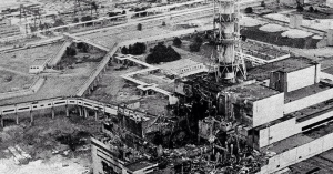 今日はチェルノブイリ原発事故が起きた日。32年前の1986年4月26日