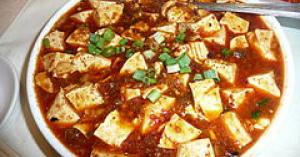 うま過ぎ豆腐料理の麻婆豆腐(まーぼーどうふ)