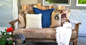 【大人気のパレット!リメイク&DIY】パレットで作るカッコいいソファ全52ショット!画像まとめてみました。