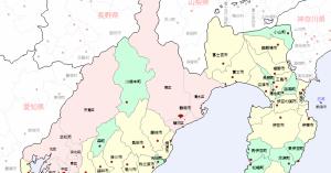 静岡県は南海トラフ地震の津波でどの地域に影響がある?