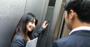 【今日は一人で乗らないで】「待っていたエレベーター」