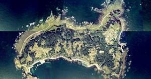 山形県唯一の有人島飛島(とびしま)