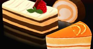 メイプリーズのおもしろケーキシリーズ駅前食堂