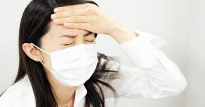 「衝撃!!」インフル予防にマスクは推奨されていなかった!!