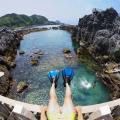 伊豆諸島にある「神津島」へ遊びにいこう!!