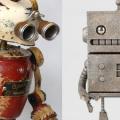 【メタルアートの世界 vol.2】金属なのにどこか温かい♡ロボット系ほっこり画像まとめてみました。
