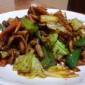 甘味噌味がごはんによく合う回鍋肉(ホイコーロー)