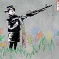 世界中が注目するバンクシーのストリートアート||落書きアートのまとめ||