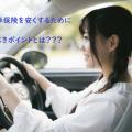 【現役保険プロが教える】自動車保険料を安くする2つのポイント