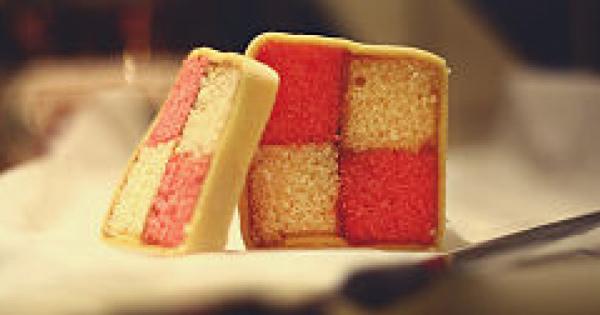 世界のお洒落お菓子♪華やかな【バッテンバーグケーキ】レシピ♡